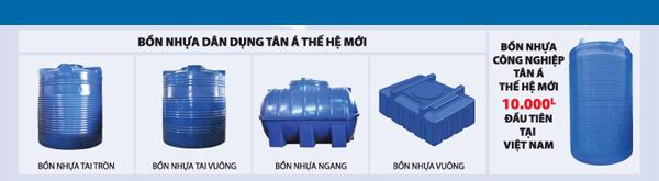 Bồn nước nhựa Tân Á Đại Thành