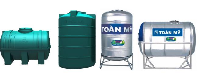 Bồn chứa nước toàn mỹ chính hãng
