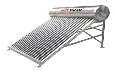 Máy nước nóng năng lượng mặt trời Pure Solar sản xuất theo dây chuyền công nghệ Đức
