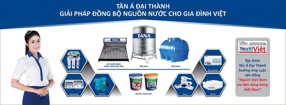 Sản phẩm bồn chứa nước Tân Á Đại Thành