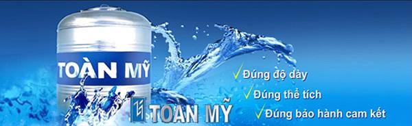 Khi chọn mua bồn nước inox Toàn Mỹ cần lưu ý đến độ dày, thể tích bồn nước và thời gian bảo hành của SP